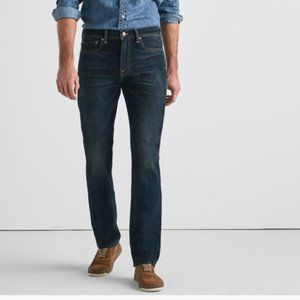 Lucky Brand 121 Heritage Slim Dark Wash Jeans